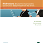 IR directions: Environmental, Social & Governance (ESG) Views from the Street