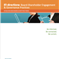 IR directions: Board-Shareholder Engagement & Governance Practices