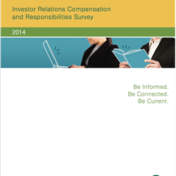 2014 Investor Relations Compensation and Responsibilities Survey